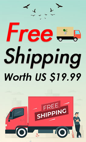 free shipping worth $19.99